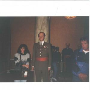 Yoli en el Museo de Cera de Londres 1993