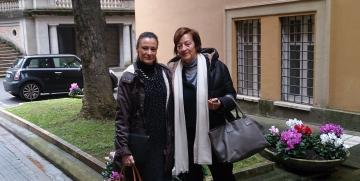 Travel to Italy (Rome) to oversee Host families and Collaborating Agencies.