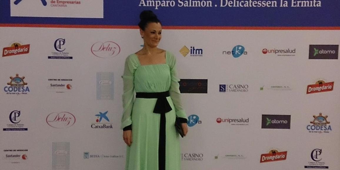 XIV Businesswoman of the Year Award Cantabria.