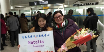 Our Au pair Natalia in China (Welcome to Qingdao)
